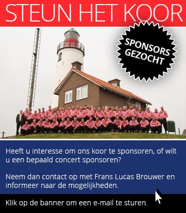 Sponsor ons koor